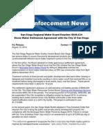 Enforcement news