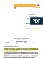 Historia de La Educacion en Mexico Lepree (1)