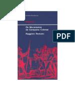 História - Ruggiero Romano - Os Mecanismos da Conquista Colonial.doc