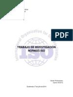 Investigación Normas ISO