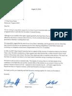 Congressional Delegation Letter to Pat Mullins