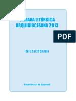 Libro Manual de Liturgia 2013