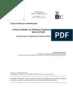 A Morte Simbólica Em Mudanças Organizacionais_ o Caso Do Banco Do Brasil