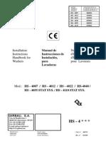 Lavacentrifuga HS 4012, HS 4055, HS 4110