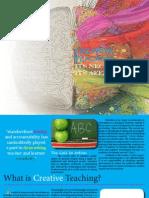 creative teaching brochure