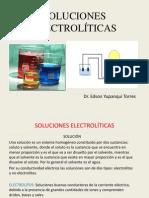 SOLUCIONES ELECTROLÍTICAS
