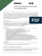 CU00800B Ficha Curso Tutorial Basico Programador Web PHP Desde Cero