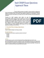 7 Types of Hard CISSP Exam Questions