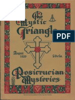 236659573 AMORC the Mystic Triangle August 1929