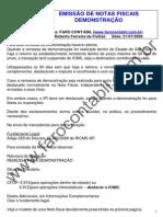 Emissao de Notas Fiscais