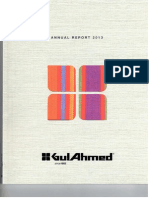 Annual Report 2013 Gul Ahmed