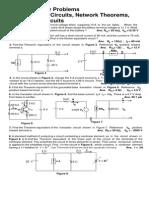 SupplementaryProblems(DCEquivalentCircuitsNetworkTheoremsandBridgeCircuits)IstSem2004EE3ASeptembe