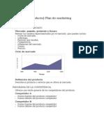 Plantilla Plan de Marketing Basico