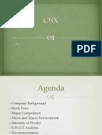 CSX Updated