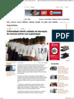 Criminalidade Infantil_ Unidades de Internação de Menores Sofrem Com Superlotação