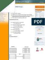 Tema 2 El Lenguaje S.Q.L. | Manual de Iniciación a Oracle