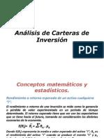 Analisis de Carteras de Inversion