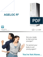 AgeLOC R Squared Product and Science Presentation