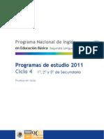 Pnieb c4 Programa Español-Ingles