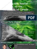 Exposing the Reefer Madness of the Parliament of Canada 3of10 Cash-Dore Lefebvre