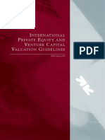 International PE VC Valuation Guidelines Sep 2009 Update