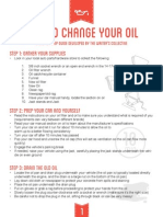 how to change your oil w- graphics 1