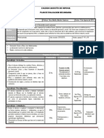 Plan y Programa de Evaluacion FCyE I