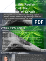 Exposing the Reefer Madness of the Parliament of Canada 5of10 Goldring-Kent