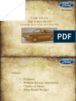 Case Study Ford Pinto