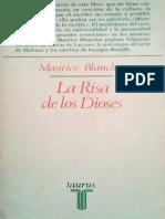 Blanchot, Maurice - La Risa de Los Dioses
