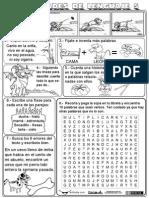 Actividades Libreta Lenguaje 05