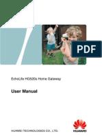 EchoLife HG520s Home Gateway User Manual