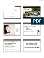 Chapter 1 Fundamental of Environmental Health