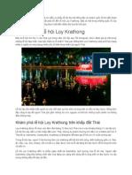 Rực Rỡ Sắc Màu Lễ Hội Loy Krathong