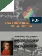 Vida y Obra de Musicos de La Historia