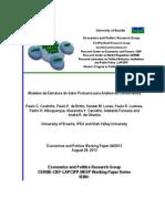 Coutinho - Modelos de Estrutura Do Setor Portuario Para Analise Da Concorrencia