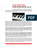 Formas Creativas Para Aprender a Tocar El Piano.ok