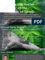 Exposing the Reefer Madness of the Parliament of Canada 10of10 Valeriote-Zimmer