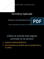 Clase 01 Semiotica Aplicada 2014