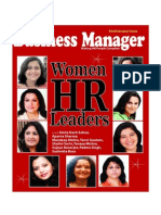 Women HR Leaders- Business Manager-HR magazine