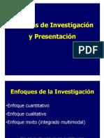 Cap I y II (Tipos de Investigaciòn y Planteamiento de Idea)