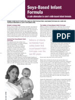 Soya-Based Infant Formula