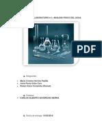 Informe de Laboratorio - Calidad Del Agua