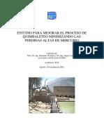 Wotruba Vasters Ensayos Quimbalete Informe