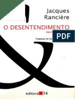 RANCIÈRE, Jacques. O Desentendimento - Política e Filosofia.pdf