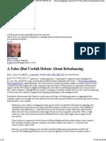 A False (but Useful) Debate About Rebalancing - Seeking Alpha