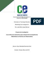 Sarmiento.proyecto de Investigación25032014