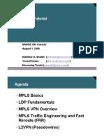 MPLS Tutorial Slides