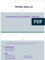 Writing an Effective Essay