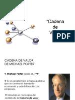 6 La Cadena de Valor